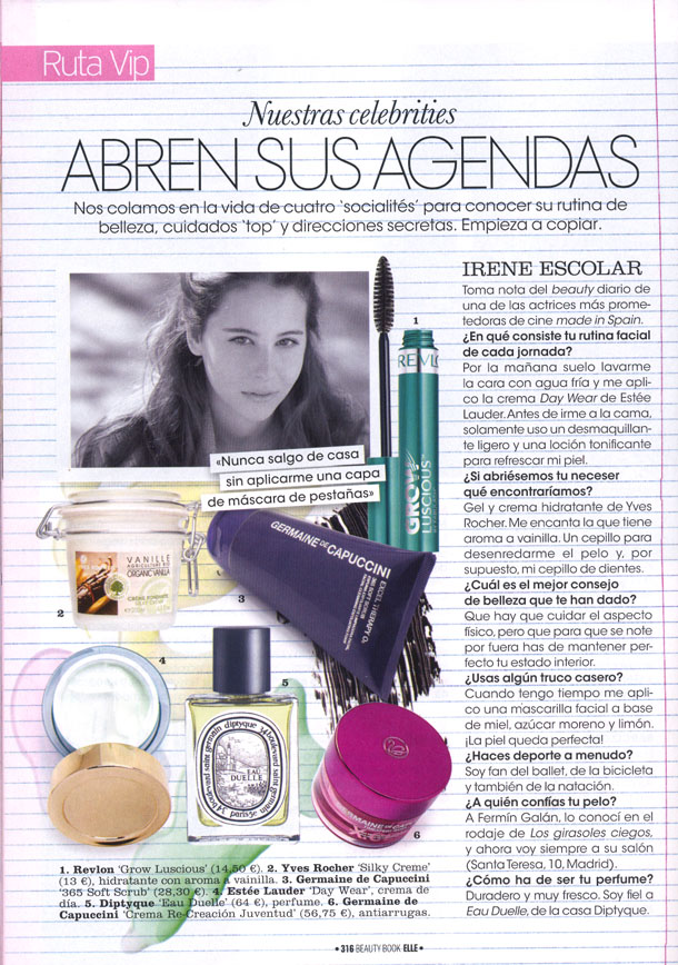 VARIOS ( ELLE BEAUTY BOOK ) 01/11/2011