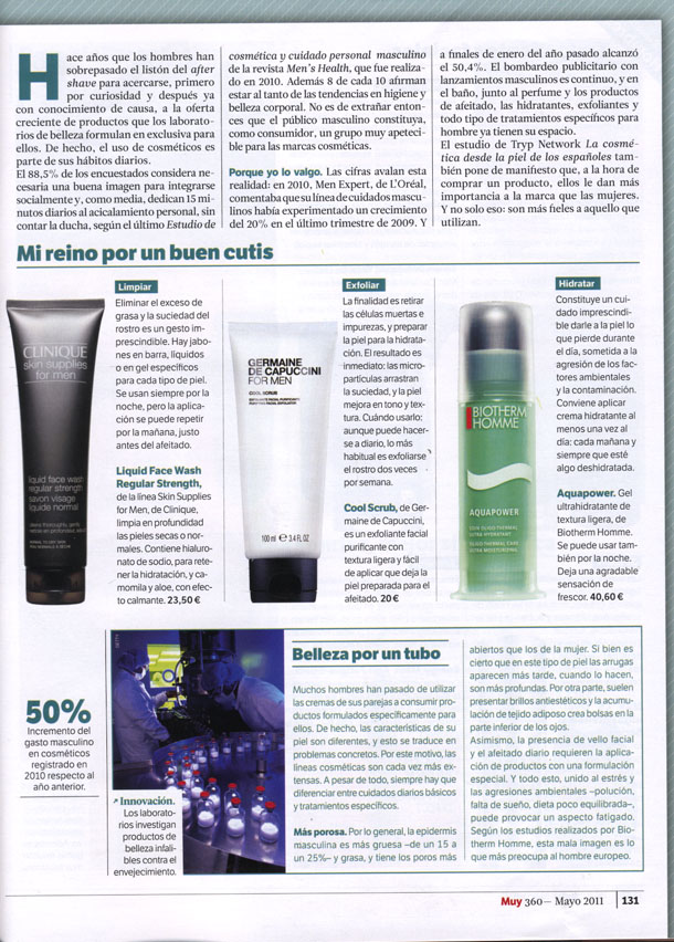 FOR MEN ( MUY INTERESANTE ) 01/05/2011