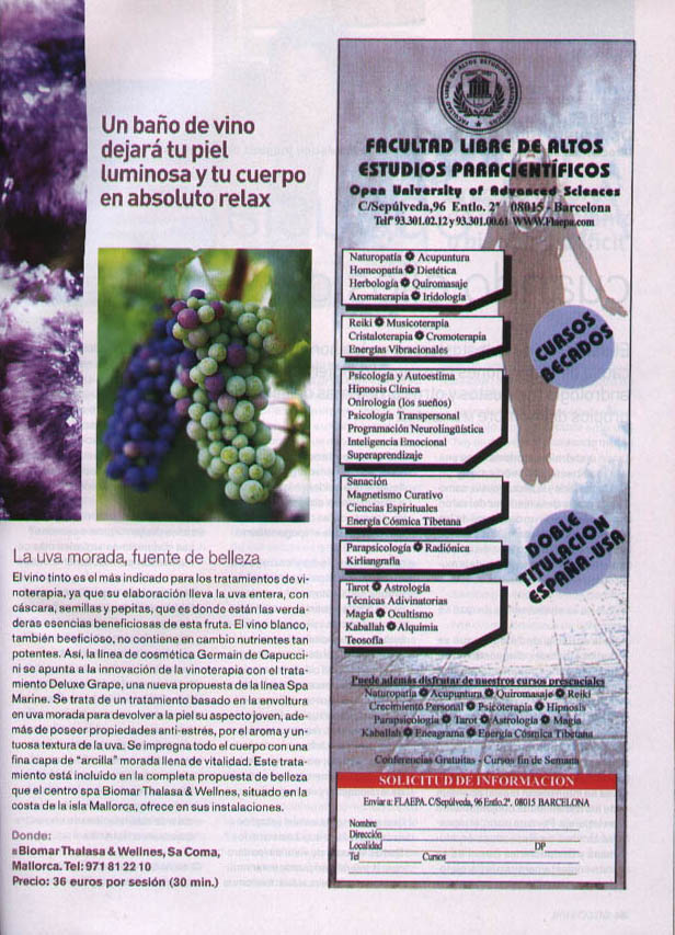 DELUXE GRAPE ( SALUD VITAL ) 01/02/2005