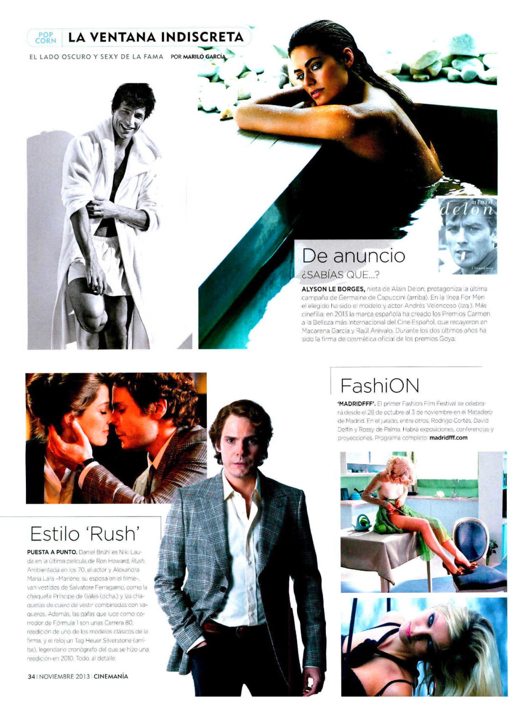 VARIOS ( CINEMANIA ) 01/11/2013