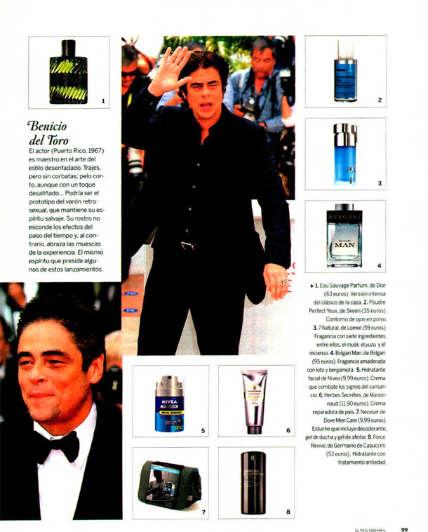 FOR MEN FORCE REVIVE ( EL PAIS SEMANAL ) 21/10/2012