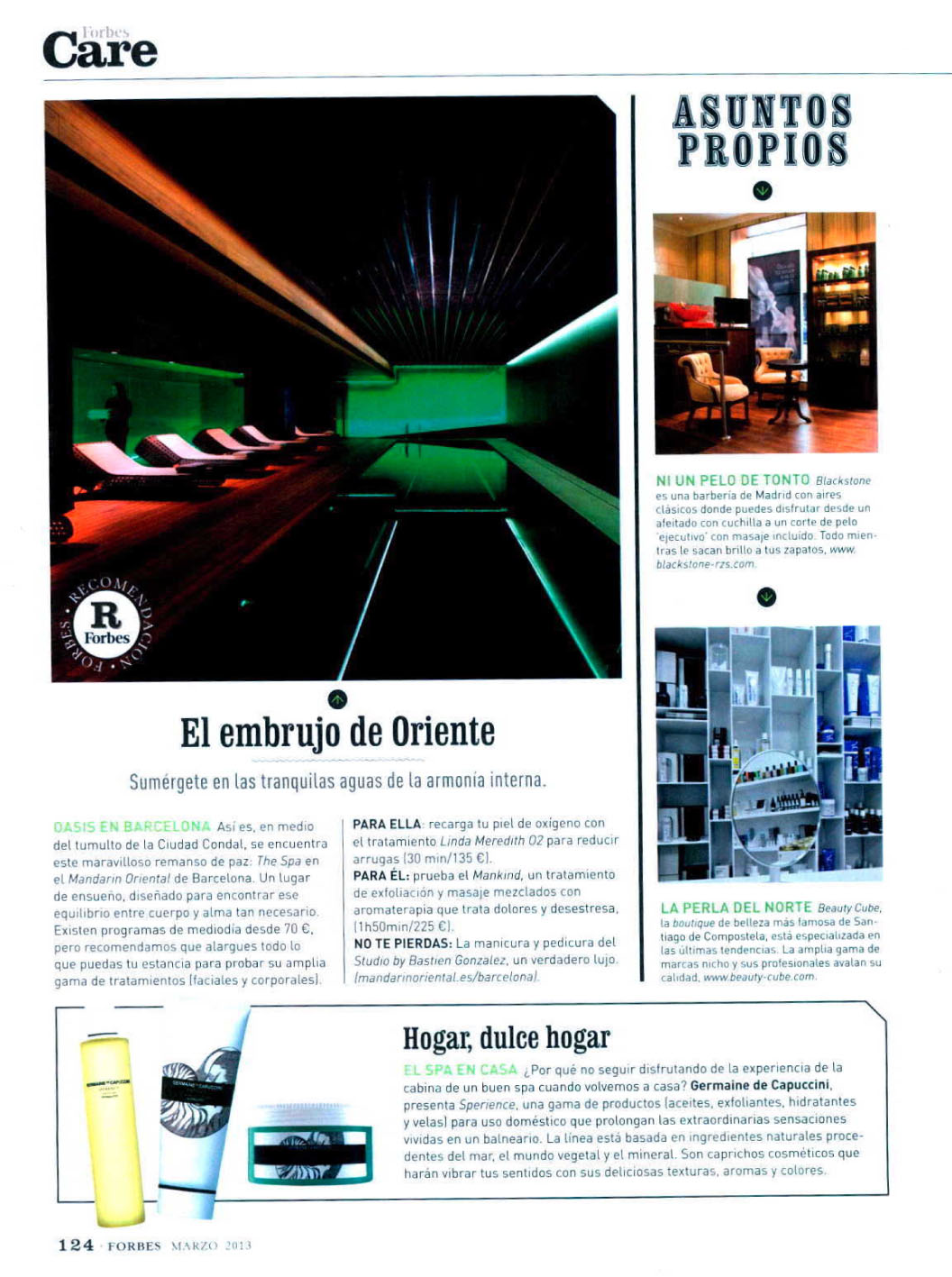 SPERIENCE ( FORBES ) 01/03/2013