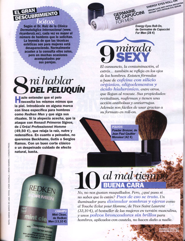 ROLL ON FOR MEN ( COSMO BEAUTY ) 01/11/2010