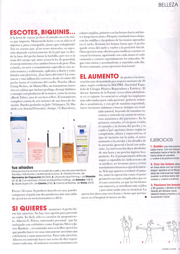 P.F.SM PEEL SOLUTION ( MARIE CLAIRE ) 01/07/2011