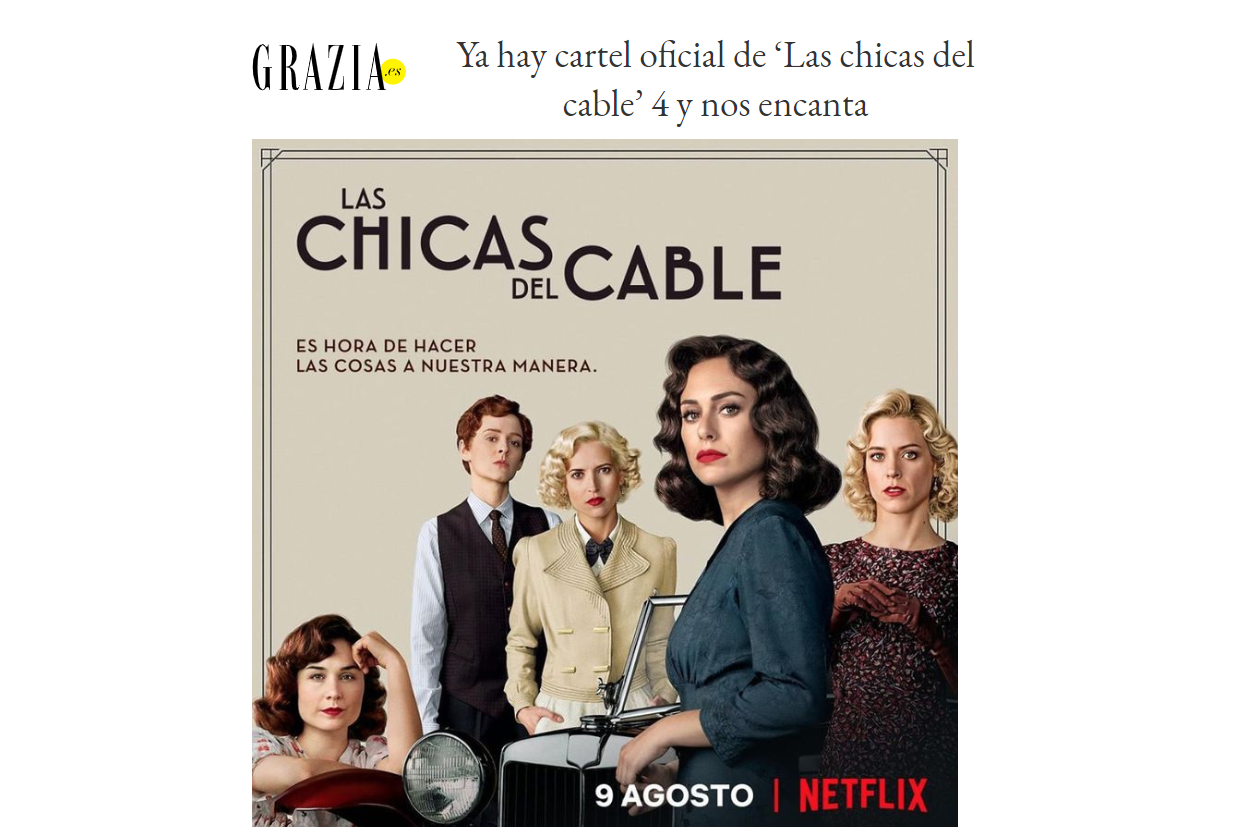 GraziaLasChicasdelCable